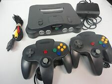 Nintendo 64 N64 Console Video Game System 2 Player PACK