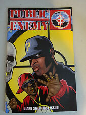 First Issue Public Enemy Comic Giant Sized  Vol 1 Issue 1 July 2006 NICE!