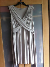 Sainsbury's TU Light Grey Jersey Dress Size 22
