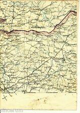 Jarosław Lubaczów 1914 orig. Karte/Ln. Tarnogród Adamówka Księżpol Wielkie Oczy