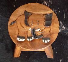 Kinder Hocker Stuhl, Kinderhocker, Sitzgruppe, Holz, Kinderstuhl, Elefant