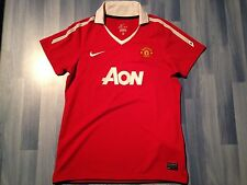 SMALL ADULTS MANCHESTER UNITED FOOTBALL SHIRT SEASON 2010-2011 HOME