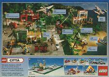 X7427 LEGO Città - Aeroporto - Pubblicità del 1990 - Vintage advertising