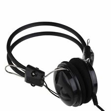Big Earphone Stereo Headphone Headset with Mic for Cellphone MP3 MP4 PC Tablet