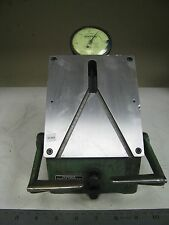 "Mahr Federal 36B-6 ID/OD Comparator V-Style Plates, 0.0001"" Dial Indicator FO41"