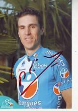 CYCLISME  carte cycliste MATTHIEU SPRICK équipe BOUYGUES TELECOM 2010 signée