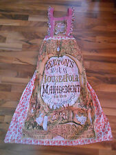 Maybe old or vintage Women's Beeton's Book Household Management Cook Chef Apron