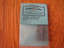 Grandt Line N Scale #8013 (8) Factory Window Double Hung