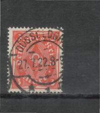 Deutsches Reich Jahrgang 1922 MiNr. 225 gestempelt Vollstempel Düsseldorf