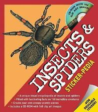 Sticker-pedia Insects and Spiders (Stickerpedia Books)