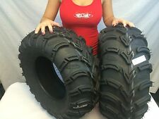 "New Set ITP MudLite AT ATV 25"" Tires 25x11x10 25 11 10 Mud lite MADE IN THE USA"