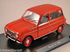 1962 RENAULT 4 / 4L in Red 1/24 scale partwork model