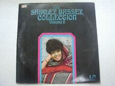 SHIRLEY BASSEY  COLLECTION VOL 2  RARE LP RECORD vinyl 1975 INDIA INDIAN VG+