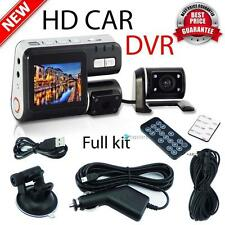 HD 1080P Dual Lens Car Vehicle DVR Camera Dashboard Video Record G Sensor Cam TR