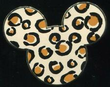 Mickey Mouse Head Icon Leopard Animal Print Disney Pin 43628
