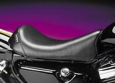 Le Pera Smooth Bare Bones Solo Seat for Harley 10-14 XL Sportster w/ 3.3 Tank