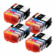 16 PACK 920XL NEW GENERIC 920 HIGH YIELD 920XL w/Chip+INK LEVEL for HP Printer