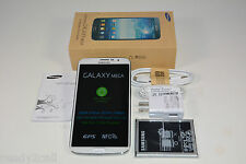 "Samsung Galaxy Mega i527 White 16GB 6.3"" WiFi GPS 8MP Camera AT&T Unlocked New"