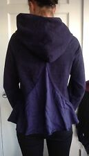 Lululemon Size 6 Pullover Purple Pull Me Over Hoodie Sweatshirt Tencel Back EUC