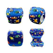AlvaBaby Swim Diaper Washable Reusable OneSize Breathable Pool pant 10-40lbs
