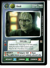 STAR TREK CCG DOMINION RARE CARD GARAK