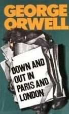 Down and Out in Paris and London By George Orwell Audio Book MP3 CD