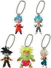 Dragon Ball Z DBZ 5PC SET Figure Keychain Ring BEST 16 Gashapon Capsule