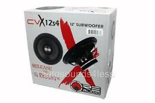 "RE Audio CVX12S4 CVX Series 300 Watts 12"" Single 4 Ohm Car Audio Subwoofer"