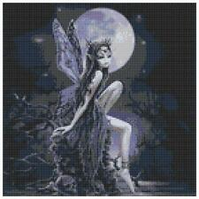 Night fairy 2 - 14 count cross stitch kit