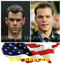 IN STOCK 1/6 Matt Damon head sculpt The Martian for Hot toys narrow Body ❶USA❶