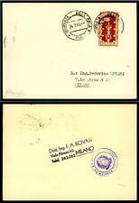 """ITALIA REP. - 1949 - 50° Biennale di Venezia - 5 lire - """"Giornata dell'aria"""""""