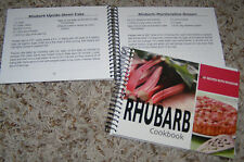 Rhubarb Cookbook, 101 recipes cooking, desserts, baking, beverages, Appetizers +