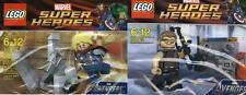 2x Lego Super Heroes Marvel Avengers Thor + Hawkeye 30163 + 30165