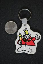 Little King Thumbs Up Deli Style Subs Restaurant Rubber Keychain Key Ring #17120
