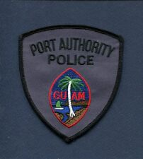 PORT AUTHORITY POLICE DEPARTMENT GUAM USA Uniform Jacket Patch