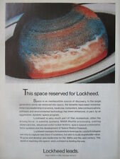 1/1992 PUB LOCKHEED SPACE DISCOVERY NASA SPACE STATION FREEDOM HUBBLE AD
