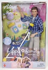 ALAN & RYAN HAPPY FAMILY DAD & SON FRIENDS OF BARBIE NRFB