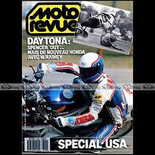 MOTO REVUE N°2790 YAMAHA FZX 750 FAZER, SUZUKI 1400 INTRUDER, WAYNE RAINEY 1987