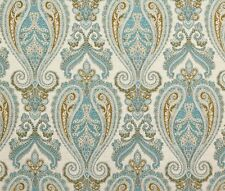 """Chenille Damask Chardonnay Aster Upholstery Fabric by the yard 54"""" wide"""