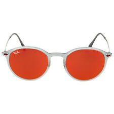 Ray-Ban Round Red Mirror Sunglasses RB42246506Q49