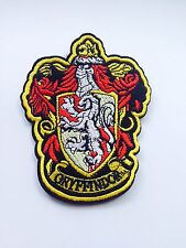 HOGWARTS HARRY POTTER WIZARD XXL GRYFFINDOR CREST PATCH DIY CLOAK BOOK COSTUME