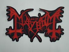 MAYHEM LOGO EMBROIDERED BACK PATCH