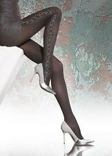 *SALE* Flavena by Fiore 40 den pantyhose SMALL floral tights