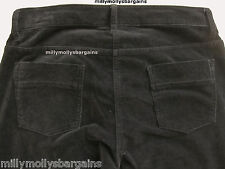 New Womens Marks and Spencer Black Skinny Trousers Size 12 Short LABEL FAULT