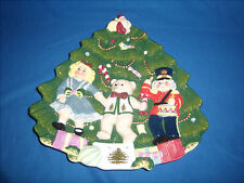 **CLEARANCE** Spode Toys Around Christmas Tree Sculpted 3D Cookie Canape (B8-10)