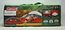 Coleman Red Canyon Dome Tent, 8-Person Modified, 17-Foot by 10-Foot, Camping