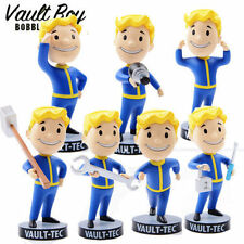 "5"" Fallout 4 Vault Boy Figure Tech 111 Bobbleheads Action Figure Set of 7"