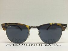 New Authentic RayBan Clubmaste Spotted Blue Large 51mm RB3016 1158/R5 Sunglasses