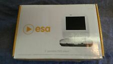 """ESA 5"""" Portable DVD player-Battery pack-Charger- AC&12V power cords-Car Charger"""