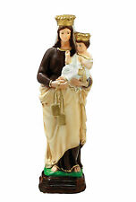 Our Lady of Mount Carmel resin statue cm. 35